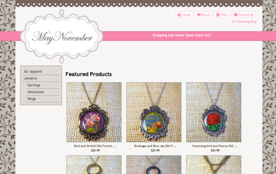 MayNovember Online Store